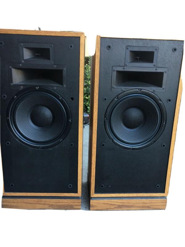 A Pair of Vintage Klipsch Forte Speakers