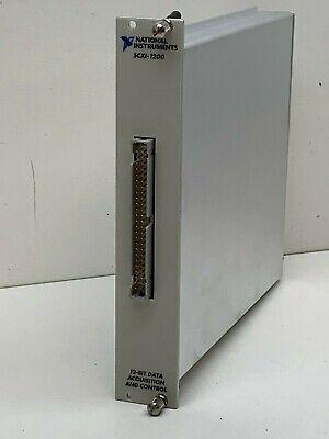 National Instruments Scxi-1200 12-bit Data Acquisition Control Module 182415f-01