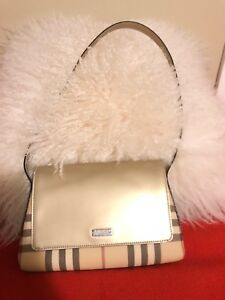 Used Burberry shoulder purse