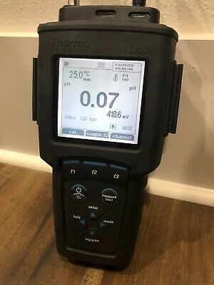 Thermo Scientific Orion Star A329 Phiseconductivityrdodo Meter W Charger