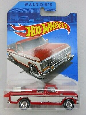 2015 Hot Wheels ~ Sam Walton's ~ 1979 Ford F-150 Truck ~ Real Riders ~ Walmart