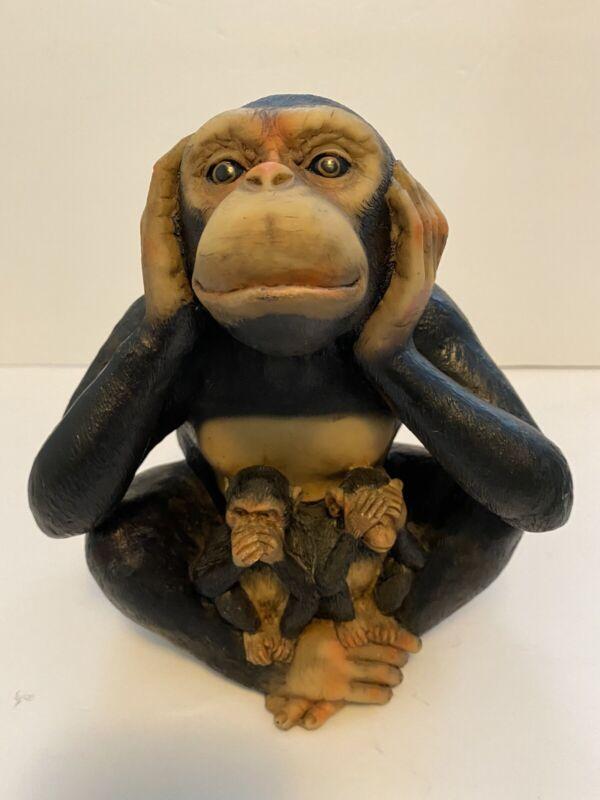 Three Wise Monkey See, Hear, Speak No Evil
