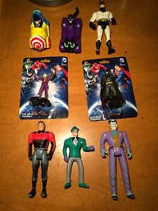 Vintage Batman action figures