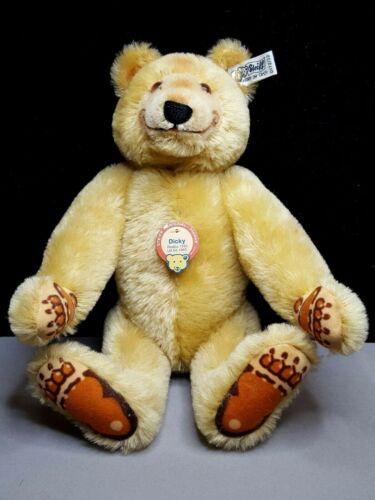 "Vintage Steiff W. Germany ""Dicky"" the Bear Stuffed Plush w/Tag  0172/32"