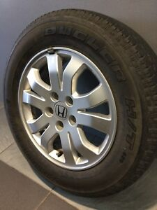 "HONDA CRV SPORT 16"" GENUINE ALLOY WHEELS AND TYRES Carramar Fairfield Area Preview"