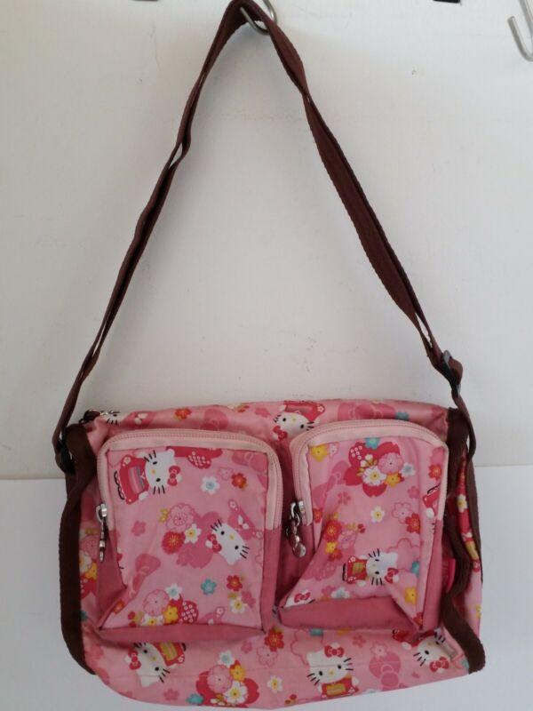 Sanrio HELLO KITTY Shoulder Bag JAPAN KIMONO import Japan Pink KAWAII rare