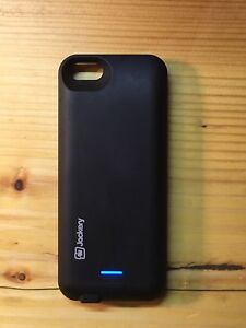 iPhone 5, 5C, 5S or SE protective case and battery backup