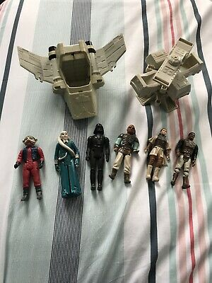 Vintage Star Wars Figures And Rigs, 1977 - 1983 Bundle Job Lot
