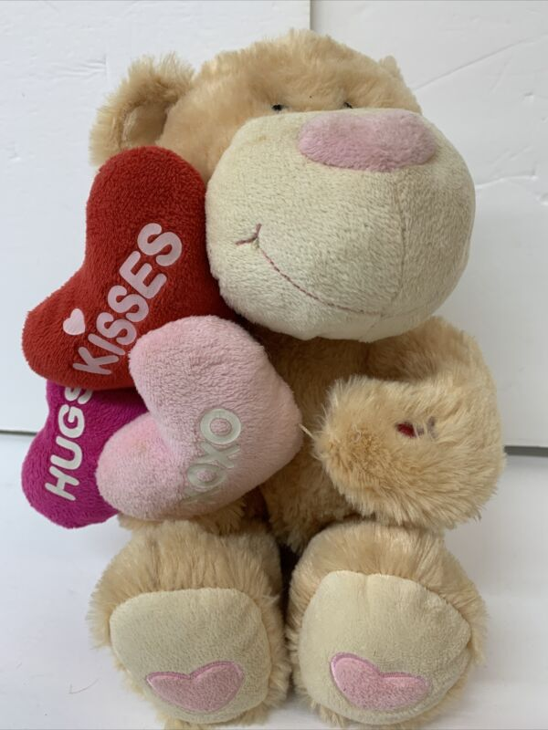 Avon Stuffed Animated Plush I Heart You Bear Singing 'Baby' Valentine Love