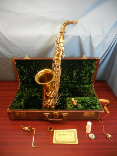 The Indiana by Martin Vintage Alto Saxophone 1956- Matching Mouthpiece