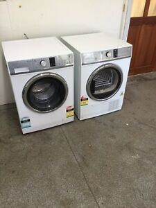 Fisher and paykel 8.5&8kg washer and condenser dryer set