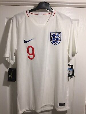 England Home Football Shirt Kane 9 BNWT