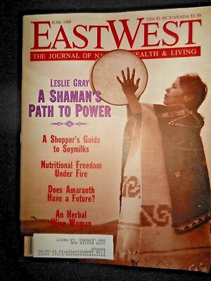 1989 East West Journal Leslie Gray Shaman's Path to Power Amaranth Atomic Vets