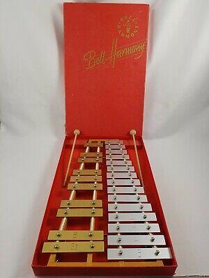 Altes Xylophon Glockenspiel Bell Harmony 70er Vintage Metalophone R10RC