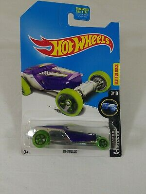 2017 Hot Wheels Kmart Exclusive X-Racers 3/10 HI-ROLLER Purple/Chrome w/Grn Whls