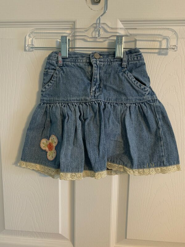 Oshkosh Genuine Kids Girl's Denim Skirt/Skort Size 5