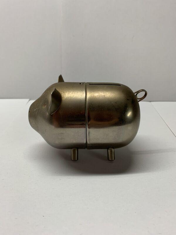 Vintage Raimond Metal Pig Still Bank