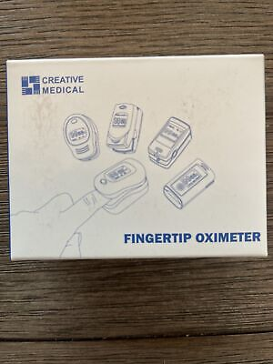 Creative Medical Compact Fingertip Pulse Oximeter Large Lcd Display Pc-60a