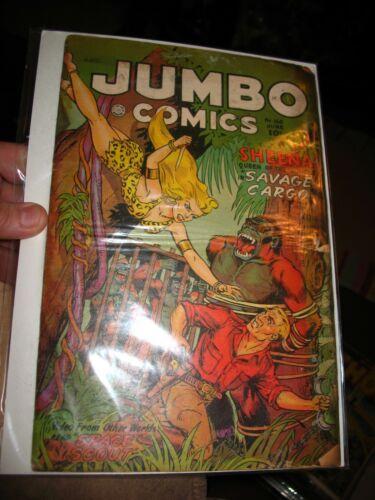 Jumbo Comics #160 GDVG~ Comic Book ~Fiction House 1952