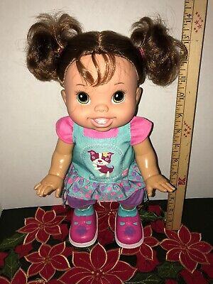 "BABY ALIVE Baby Wanna Walk Bilingual English & Spanish Walking Talking 14"" Doll, used for sale  Tucson"