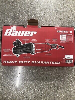 Bauer Right Angle Drill Kit 13 Amp2 Speed 12 Heavy Duty 1695e-b New