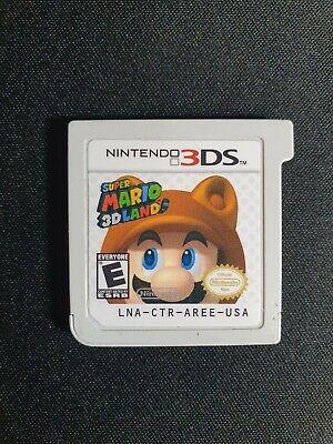 Super Mario 3D Land (Nintendo 3DS, 2011) - Cartridge Only