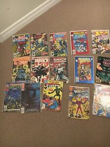 Comic books. 2099, ghost rider, what if...?