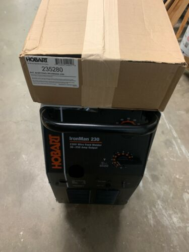 HOBART 500536 MIG Welder, Ironman 230 Series, W/EXTRAS READ DESCRIPTION **NEW**