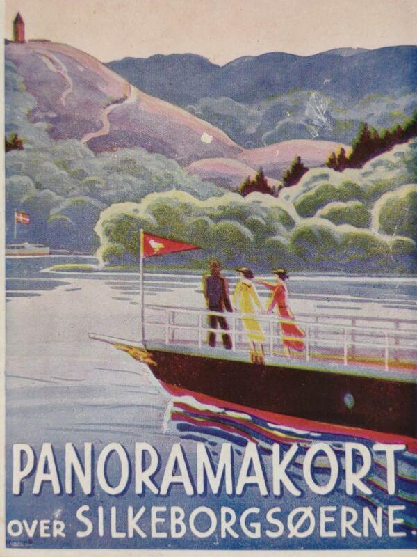 Silkeborg DENMARK Brochure Travel 1920s-30s DANISH Europe