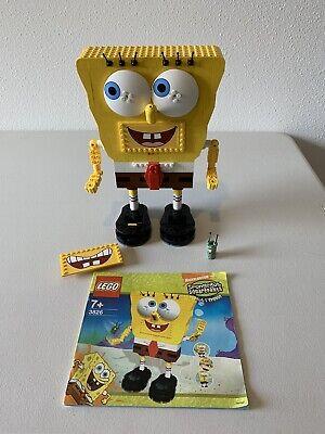 LEGO 3826 SpongeBob Build-A-Bob 100% Complete