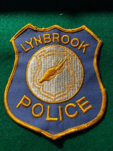 Vintage Lynbrook LI New York NY Police Patch
