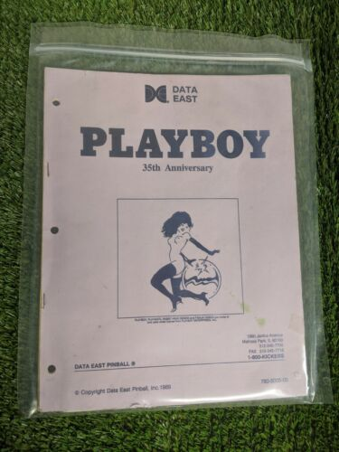 Playboy 35th Anniversary Manual by Data East