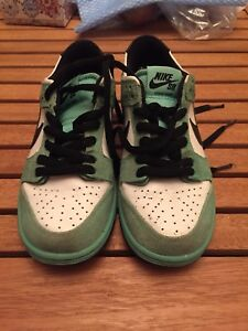 Nike SB Dunk Low Sea Crystal Youth Size 4.5 30$
