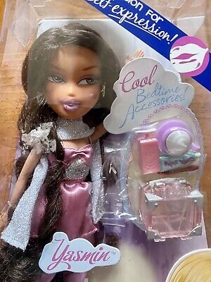 MGA BRATZ NIGHTY- NITE YASMIN NIB Accessories Bedtime Doll Set