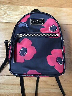 Kate Spade Bradley Wilson Mini Backpack in Poppy