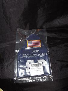 Military USAF SECURITY POLICE SP BRASSARD ARMBAND  FLAG NEW