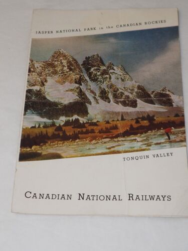 1938 CANADIAN NATIONAL RAILWAYS DINING CAR SERVICE MENU WITH daily Specials