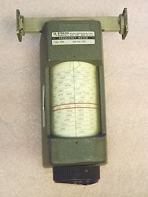 WR62 12.4 to 18GHz Waveguide Frequency Meter PRD Electronics 536