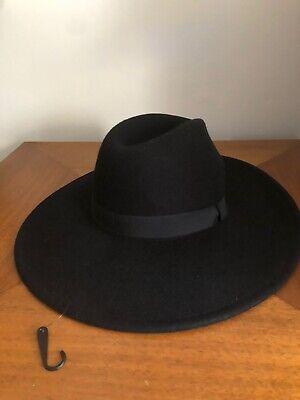Zara Wool Wide Brim Hat