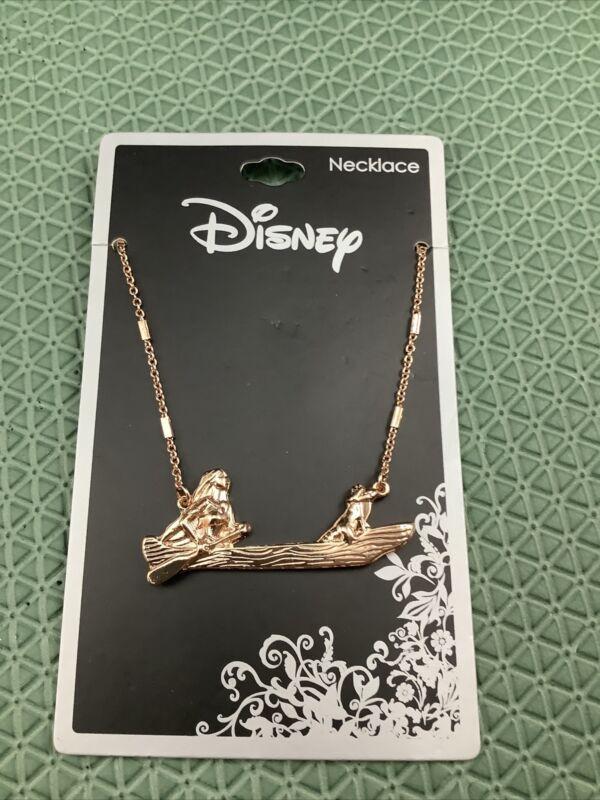 New Disney Pocahontas Canoe Necklace Neon Tuesday Meeko
