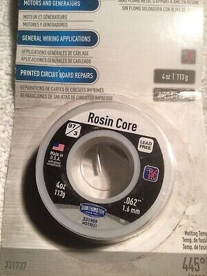 Electrical Solder Rosin Core 4 Oz Worthington Nip