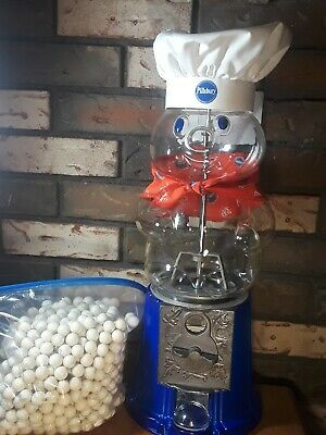 Pillsbury Doughboy Carousel 25th Anniversary Gumball Vending Machine W/ Gum Ball