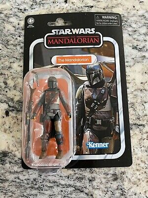 "2020 Star Wars THE MANDALORIAN TVC Vintage Collection 3.75"" w/FIGURE SHIELD CASE"