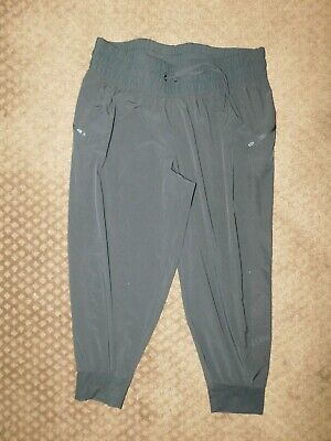 Athletic Works Capri Pants Sz XL 16-18 Drawstring Womens