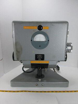Carl Zeiss Elrepho 35453 Germany Reflectance Photometer W Brooks Tube 4-65d Gs