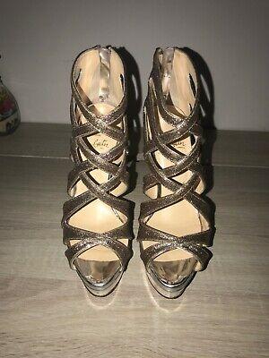 Christian Louboutin Glitter Balota Shoes Size 36.5