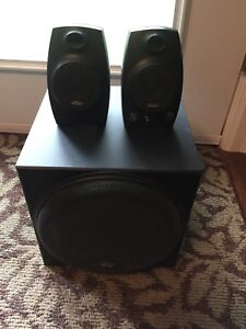 Labtec PC Speakers with Subwoofer