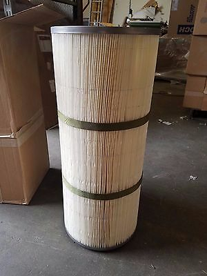 Aftermarket Replacement Dust Collector Cartridge 12-34 Od X 8-38 Id X 26 O