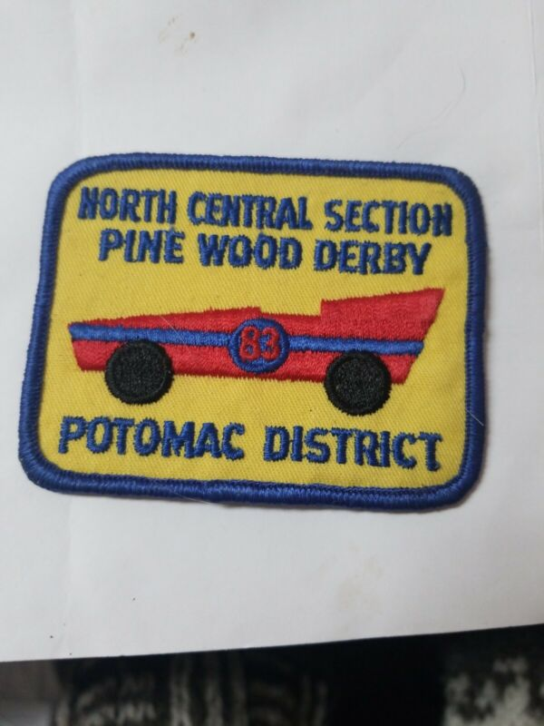 1983 North Central Section Pinewood Derby Potomac Dist Royal Rangers  Patch