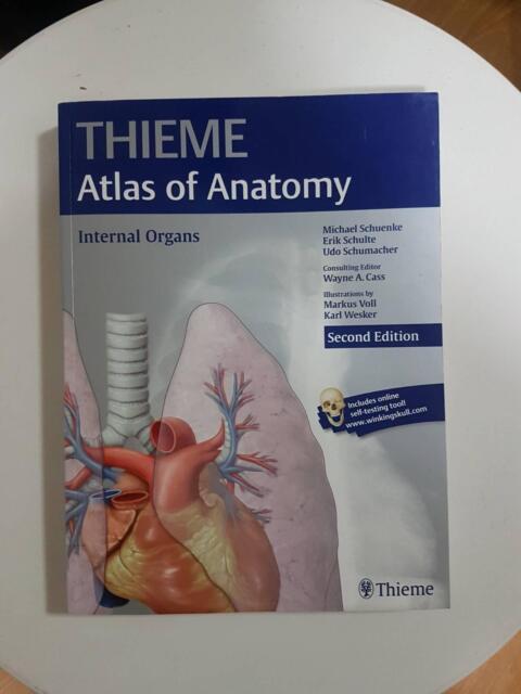 Thieme Atlas Of Anatomy Textbooks Textbooks Gumtree Australia